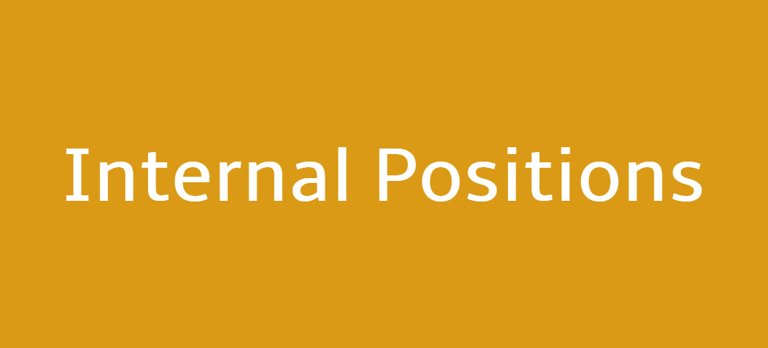 internal positions available